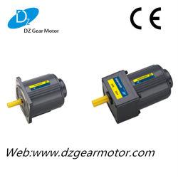 Monophasé 230V AC pignon de commande de vitesse moteur avec quatre pôles