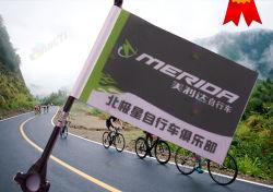 사용자 정의 인쇄 사이클링 산악 자전거 경주 광고 플래그