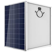 Soporte plegable 65watt Poli Panel Solar con batería de techo