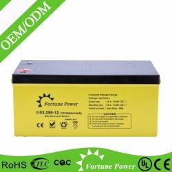 Batteriereservesystem der Vermögens-Energien-12V 250ah Solar