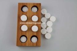 Runde komprimierte Tuch-magische Tuch-kreative Tellersegmente der Baumwolle-100%/Viskose-/Rayon-