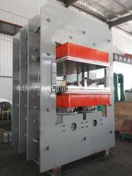 Tipo de trama configuración alta placa hidráulica vulcanización de caucho la Máquina de prensa