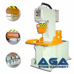 玉石の石(P90/P95)を切る油圧石造りのディバイダー機械