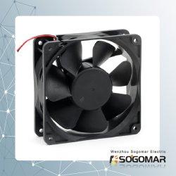 Ventilatore elettrico di CC una materia plastica da 4 pollici per il raffreddamento del calcolatore