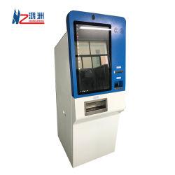 Self Service киоск оплаты наличными на хранение машины с термопринтер