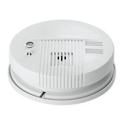 OEM à double tension de service d'optique du détecteur de fumée autonome avec batterie de secours avec capteur photoélectrique