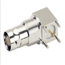 PCB 마운트를 위한 정각 여성 또는 Jakc RF Coxial BNC 소켓 연결관