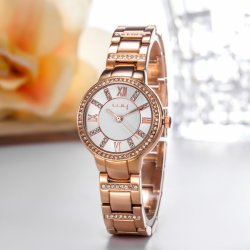 custom 제조 OEM 형식 선물 스위스 숙녀 손목 시계 (WY-018)