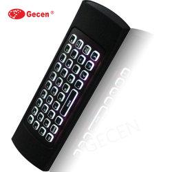 Gecen 2020 Mx3 беспроводная мышь Беспроводная мини-клавиатура голосовой пульт дистанционного управления с подсветкой ИК пульт дистанционного управления для обучения PC телевизор .