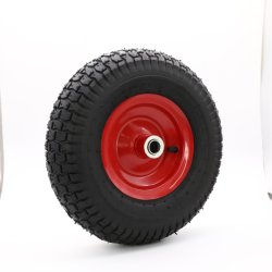 Roda Barrow roda pneumática roda ferramenta de rodas Cart borracha pneu de ar 13 ′ ′ X5.00-6