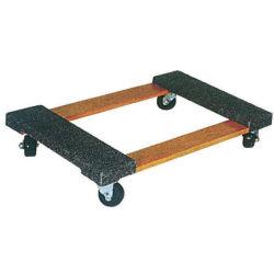 """Carrello di legno duro di servizio del caricamento del carrello 300kg dello strumento con """" rotella solida 3"""