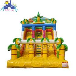 Super Fun sec gonflable Diapositive, videur château gonflable pour les enfants, terrain de jeux gonflables Monkey Island Diapositive Combo