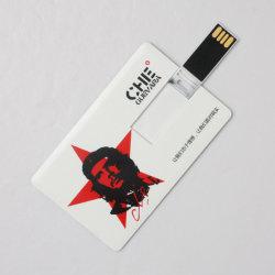 Tarjeta de Crédito Tarjeta de presentación de la unidad flash USB con logo Imprimir