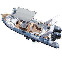 China marcação costela 760 Boat 7,6m Motor insufláveis PRFV Pesca barco barco de velocidade