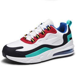 Mens de moda Calçado Casual estilo coreano Almofada de ar tênis de corrida homens Rendas Leve-Andando Tênis Trainer sapatos masculinos