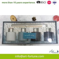 4PCS Oil Reed Diffuser في صندوق الهدايا للمنزل الهواء النقي
