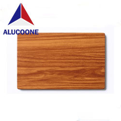 나무로 되는 지상 알루미늄 합성 위원회 PVDF 알루미늄 합성 위원회