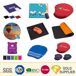 High Quality Promotional Gift Design Uw Eigen Ergonomische Gel Silicone Soft Pvc Eva Hard Plastic Polssteun Diverse Vormen Computer Office Sublimation Mouse Pad