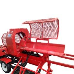 El procesador de 35 toneladas de leña 35 /Ton divisor de registro /4 forma de madera el divisor