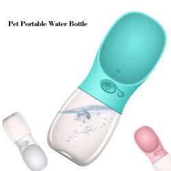 Fuite d'Portable preuve Cat voyage en plastique Outdoor distributeur d'eau potable bol d'alimentation Chien de compagnie bouteille d'eau pour l'eau potable