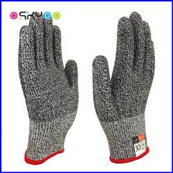 De Bestand Handschoenen van het Mes van de anti-Besnoeiing van de Keuken van de Veiligheid van de Bescherming van de Hand van de Rang van het voedsel
