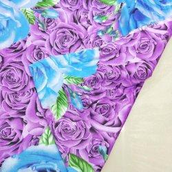 tessile del tessuto della stampa del pigmento 55GSM