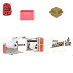 Высокий уровень выходного сигнала PS пенопластовый лист решений экструдера одноразовые пластину из пеноматериала блюдо в салоне