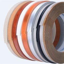 PVC sólido Lipping brilhante de cor/Alto/ABS/PVC Woodgrain Orladora