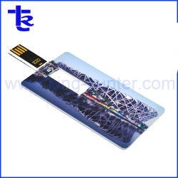 フルカラープリント対応のクレジットカード USB スティック