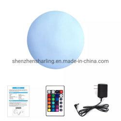 リモート・コントロールLEDの球のプールの球の浮遊球ライト80cm