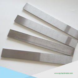 Woodcutting 기계를 위한 텅스텐 탄화물 편평한 /Strip /Bar