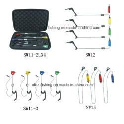 Accessoires de pêche de la borne s'attaquer pivote et clips de la pêche Swinger