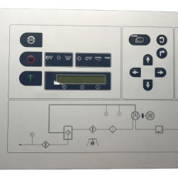 Boa qualidade 100005506 Industrial PLC do controlador de exibição ES3100 para compressores de ar compressor