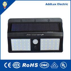 12W marcação UL Saso Sensor do Corpo de LED do painel solar Lâmpadas Jardim fabricados na China para a piscina, rua, Park, emergência, iluminação exterior da Melhor fábrica do Distribuidor