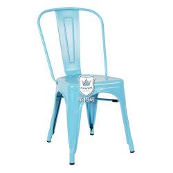 多彩なMarais Tolixの安い価格の椅子によって塗られる鋼鉄椅子のStackabelの喫茶店の椅子