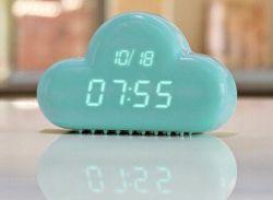 De digitale Klok van de Wolk van de Datum van de Temperatuur van de Tijd van het Alarm van de Controle van de Klok Correcte
