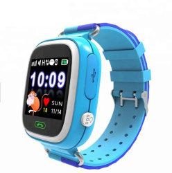 La moda de alarma Sos pidiendo libras WiFi localizador personal GPS de seguimiento de la pantalla táctil del teléfono GSM ver niños Smartwatch Q60