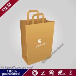 Des couleurs vives des sacs en papier de cadeau pour l'alimentation Package sacs d'emballage de papier standard personnalisé pour les cadeaux