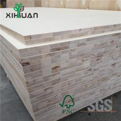 Melamin gegenübergestellter Schrank Kraftstoffregler-festes Holz-Panel lamellierter Vorstand