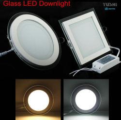 Bed 120mm 9W Transparante Lichte leiden van het Comité van het Glas 6500K in
