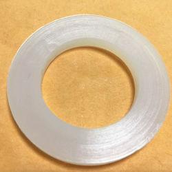 RubberWasmachine van het Silicone van de Schakelaar van de Inham van de Slang van de douche de Hoofd Hittebestendige Duidelijke