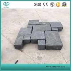 Zhangpu basalte noir pour faire face/tuiles Curbstone/mural