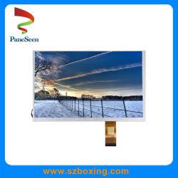 "9 "" 1024*600 Resolution/500 Brightness/800の対照の比率のカラーTFT-LCDスクリーン"
