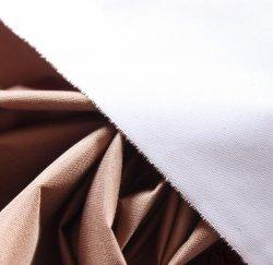 100 polyester Tissu Sportswear kaki laiteuse respirable de revêtement perméables à l'humidité pour Skiwear hydrostatique