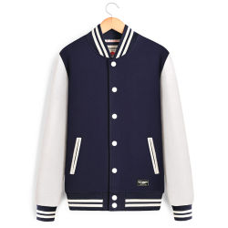 Un 80%20%Algodón poliéster de los hombres chaquetas Chaqueta, el diseño de los hombres