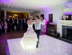 Candeeiro LED barata interativo laminado de Tango Dança estrelado