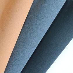 Excelente calidad de tela de gamuza de microfibra de imitar para los bolsos de cuero y calzado, Zapatos revestimiento