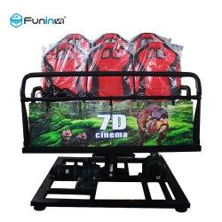 5D/7D Motion Gafas 3D Cine 5D/7D/9D XD carretilla teatro móvil proveedor de equipos de 7D