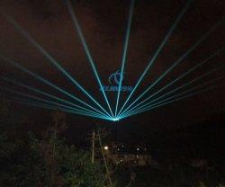 Novo Design de RGB exterior 30W luz Laser rotativo