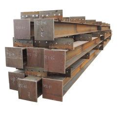 H-Kapitel Stahlspalte mit Stahlträger der Grundplatte-Zelle Hw Majestät-Hn H Shape